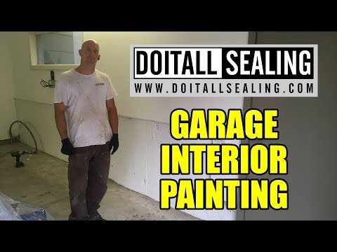 Garage Interior Painting