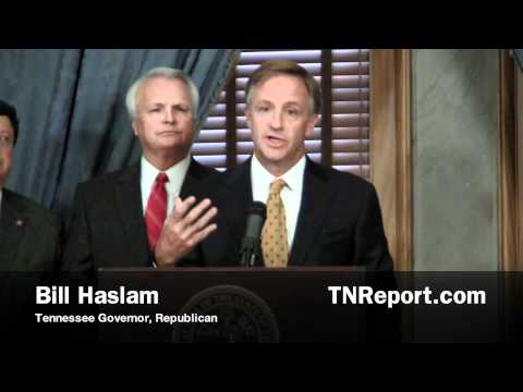 Haslam on Unemployment Benefits Extension