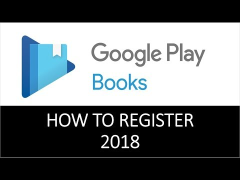 How to Sell a Book on Google Play Books Partner 2018
