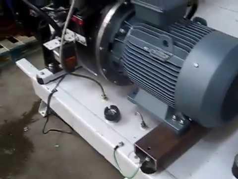 Making an asynchronous generator