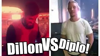 Funny moments of Dillon Francis! #3