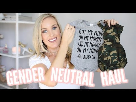 GENDER NEUTRAL BABY CLOTHING HAUL | CUTE FOR BOY OR GIRL!