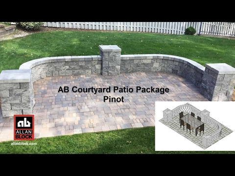 AB Courtyard Patio Package Pinot