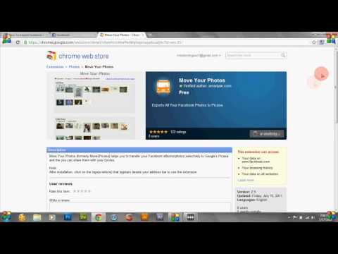 How to Transfer Your Facebook Photos/Albums To Google Plus