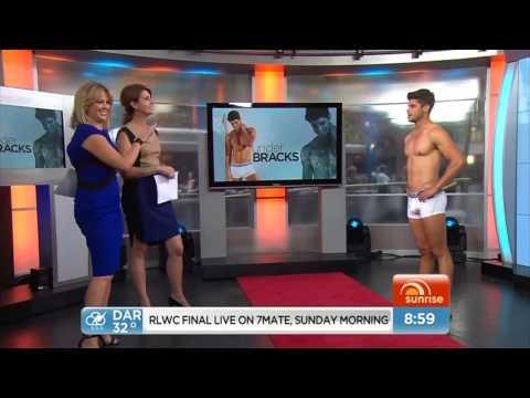 Sunrise (Morning Show) - Bad boy to underwear model (Nick Bracks - Underbracks)
