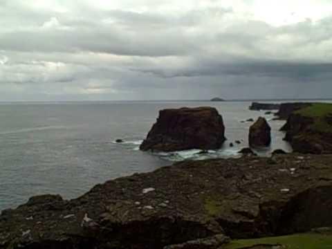 Cliffs at Eshaness, Shetland Islands, Scotland
