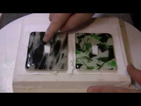 Classy Glass Switch Plates