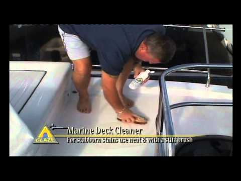 Boat and Yacht Cleaning Product -- A Glaze Deck Cleaner.mov