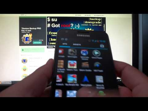 How to backup Android apps and data (Root method)