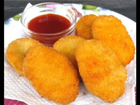 HOW TO FRY NUGGETS