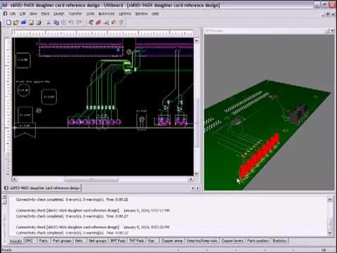 Transferring an Ultiboard Design to Sunstone Circuits with NI Multisim