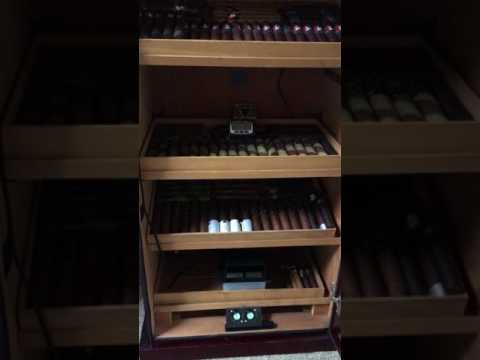 How I sealed my humidor from a humidity leak.