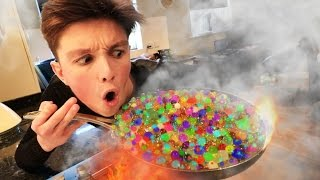 EXPERIMENT Orbeez VS Boiling Water! *NEVER TRY THIS*