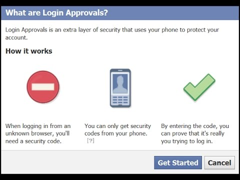 How to Active Facebook Security Code-Login Approvals