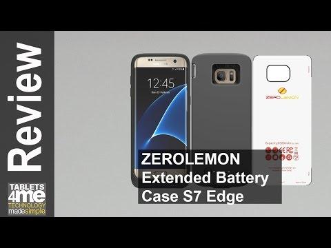 ZeroLemon Samsung Galaxy S7 Edge Battery Case 8500 MAH