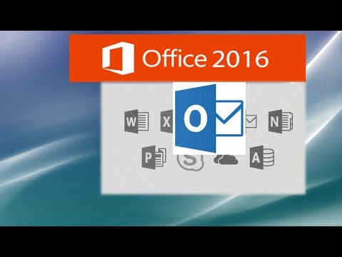 Outlook 2016 Tutorial for the Workplace and Students - Part 2 of 2