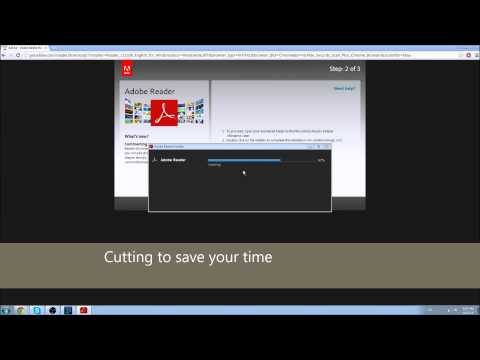 How to download and install Adobe Reader