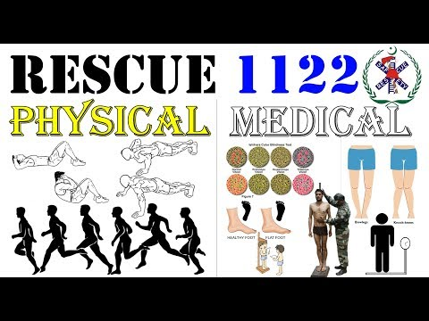 Rescue 1122: Physical and Medical of Rescue 1122 Complete Information - Know About All Steps in Urdu