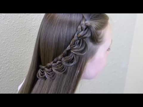 Simple & Beautiful Hair Style for Girls