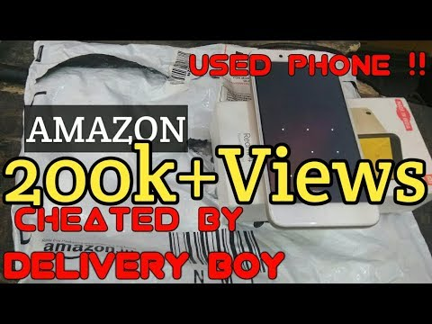 DELIVERY BOY CHEATED ME || Amazon NOT TO BE BLAMED
