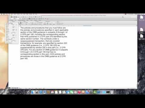 Setting Margins in Word 2011 for MAC