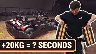 How Much Does Weight Affect Karting Lap Times?