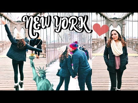 NYC DAY 2: BROOKLYN BRIDGE, TIMES SQUARE, STATUE OF LIBERTY!!!