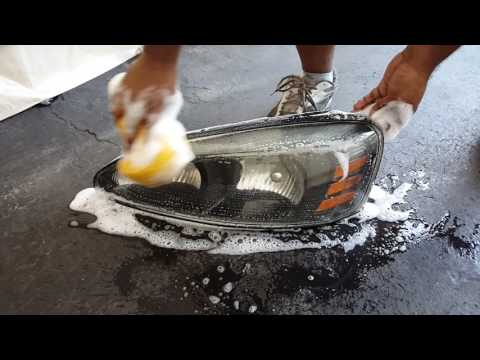 Cleaning Headlights Part 4 - Coca Cola