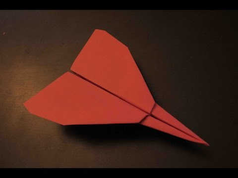 How to Make a Origami Paper Plane: instruction| SMART