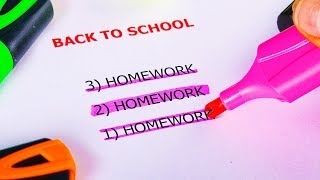 30 SCHOOL HACKS YOU