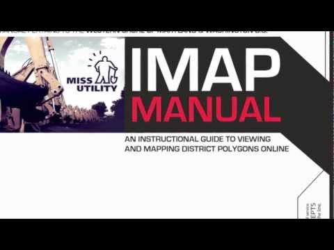 Miss Utility IMAP Tutorial