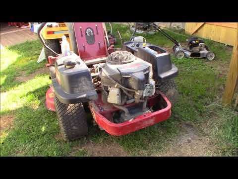 not so serious problem with Toro ZTR,