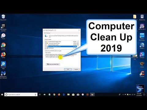 How to Clean your Computer 2019 and How to Clean Disk Space Windows 10   Free Windows Apps
