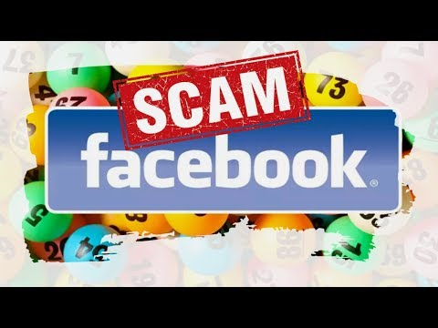 Facebook Lottery Scam 🆘