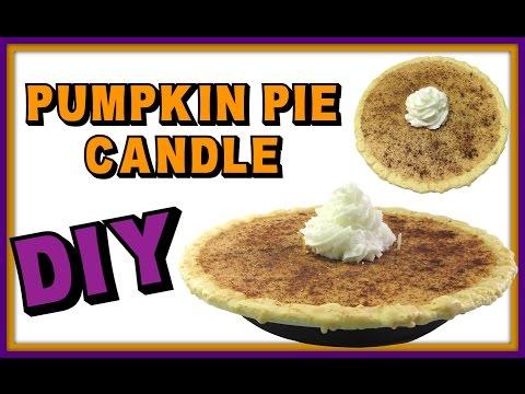 Pumpkin Pie Candle DIY ~ Craft Klatch