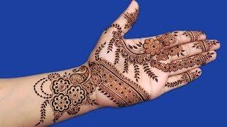 New mehndi design for hands | Full Hand Floral mehndi design for stylish girls | henna tattoo #151