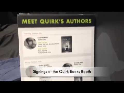 Quirk at New York Comic Con: 2014