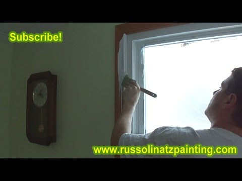 How to Paint Over Varnished Wood Trim (Part 1)
