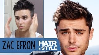 Zac Efron Hairstyle 2014 | How To Dress | Dre Drexler