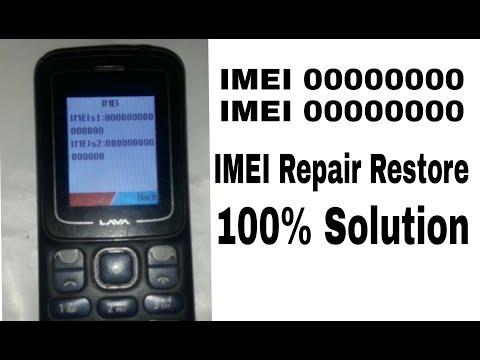LAVA KKT07+ KEYPAD MOBILE IMEI Repair restore done by