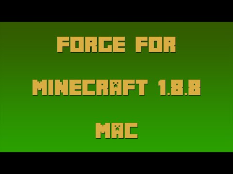 How to Install Forge for Minecraft 1.8.8 [Mac]