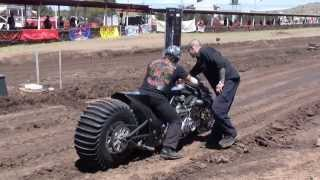 v8 bike drags