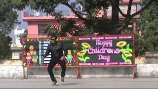 kapil Dance on Childrens day 2017