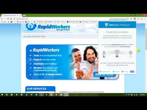 online job in nepal 100% best site ||rapidworker||full guide