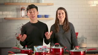 Everything You Need to Cook Like Tasty With Claire and Alvin • Tasty