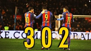 MSN ● All 302 Goals ● Messi Suarez Neymar ||HD||