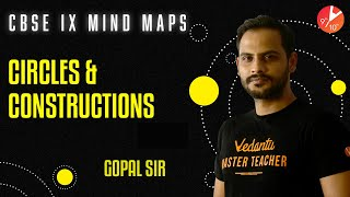 Circles and Constructions Mind Maps | CBSE Class 9 Math Chapters 10 & 11 | NCERT Solutions | Vedantu