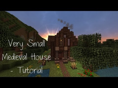 + Small Medieval House - Tutorial +