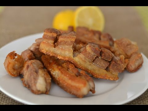 Fried Pork Belly Recipe - How To Make Colombian Chicharrón - SyS