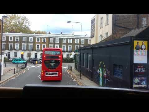 Camden Town to Euston by 24 bus   5th November 2017
